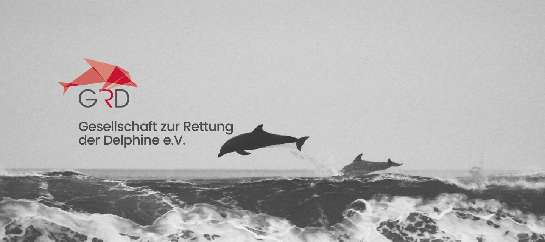 Logo der GRD-Gesellschaft zur Rettung der Delphine e.V.