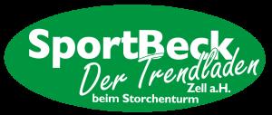 Hier wird das Logo der Firma Sport Beck in Zell a.H. angezeigt