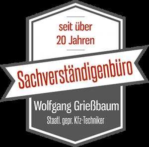 Logo des KFZ-Sachverständigen Büro Grießbaum
